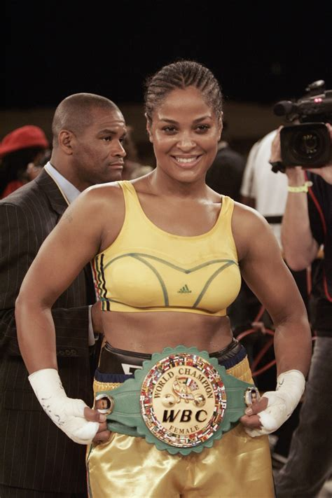 Laila Ali insists Floyd Mayweather is 'not the greatest